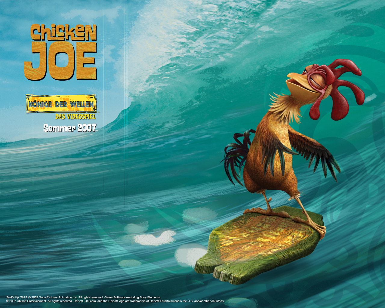 chicken-joe surfs up