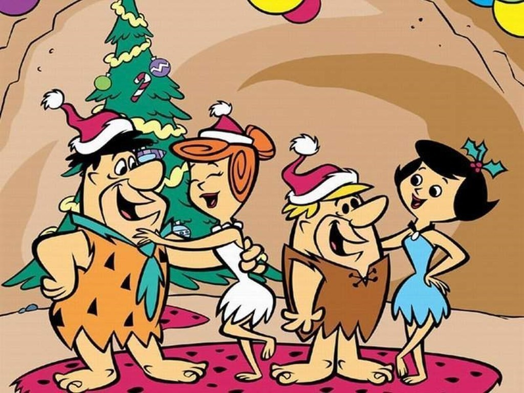 Flintstones Christma Wallpaper