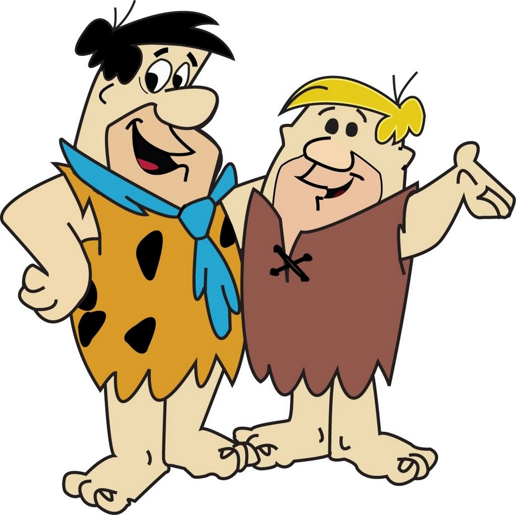 Flintstones Fred and Barney