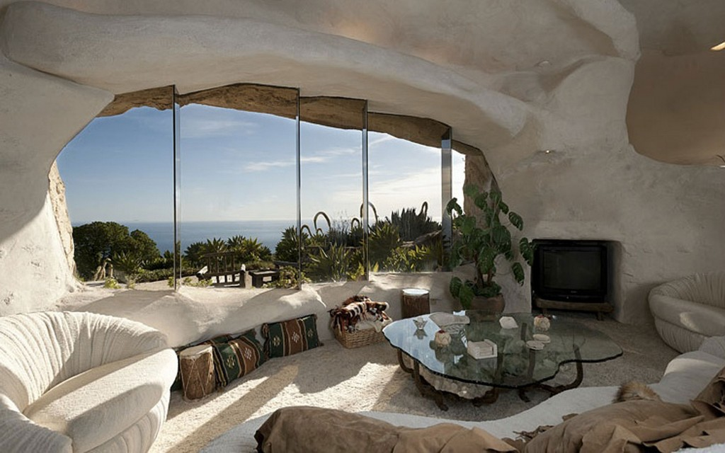 Flintstones House Family Room