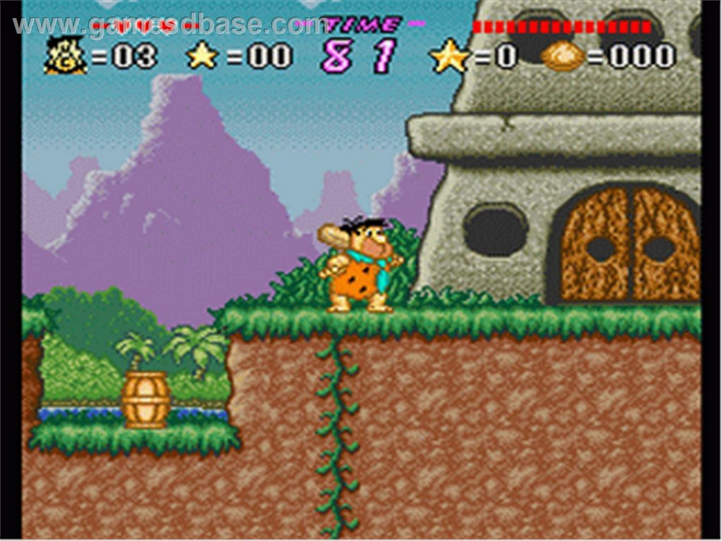 Flintstones The game