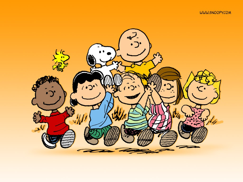 Snoopy And Friends HD Wallpaper