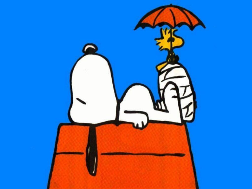 snoopy relax