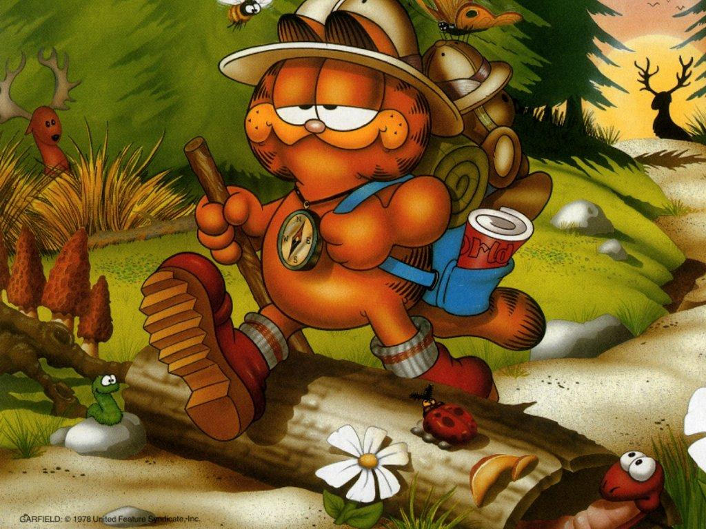 Garfield wallpaper 1024x768