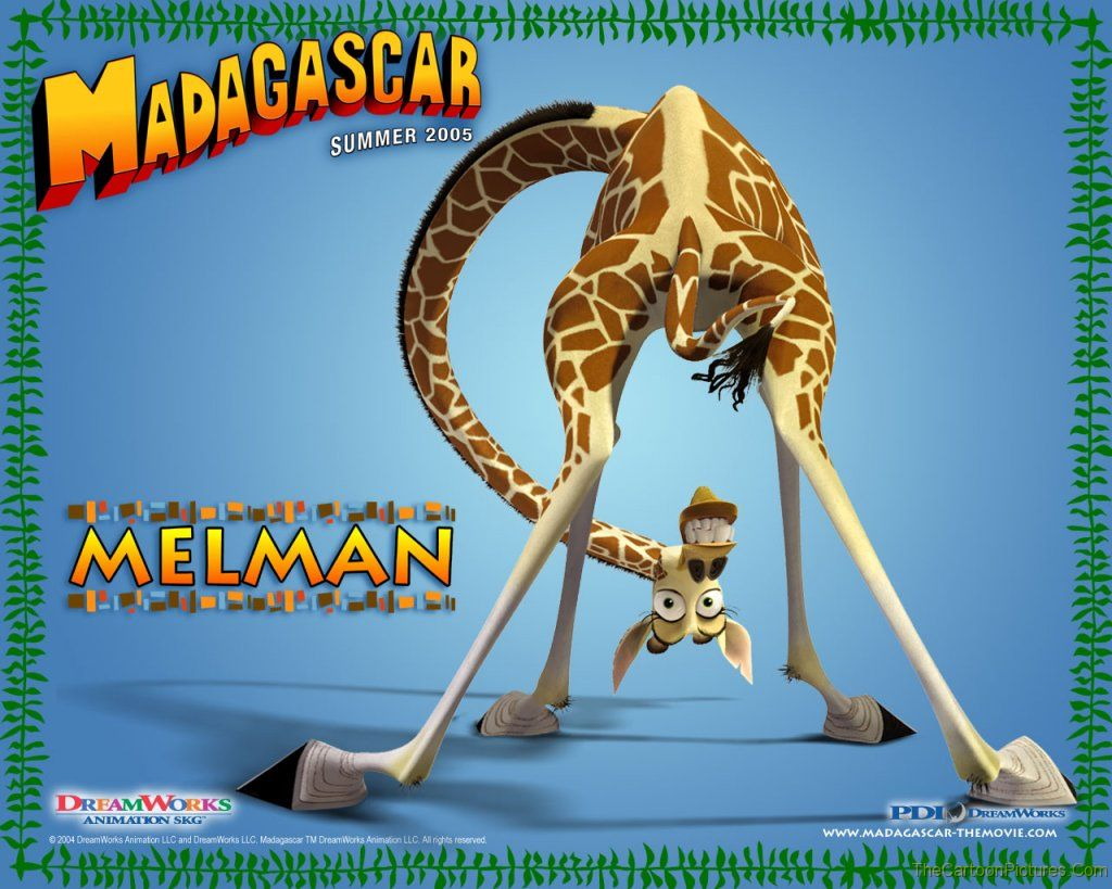 madagascar-melman wallpaper
