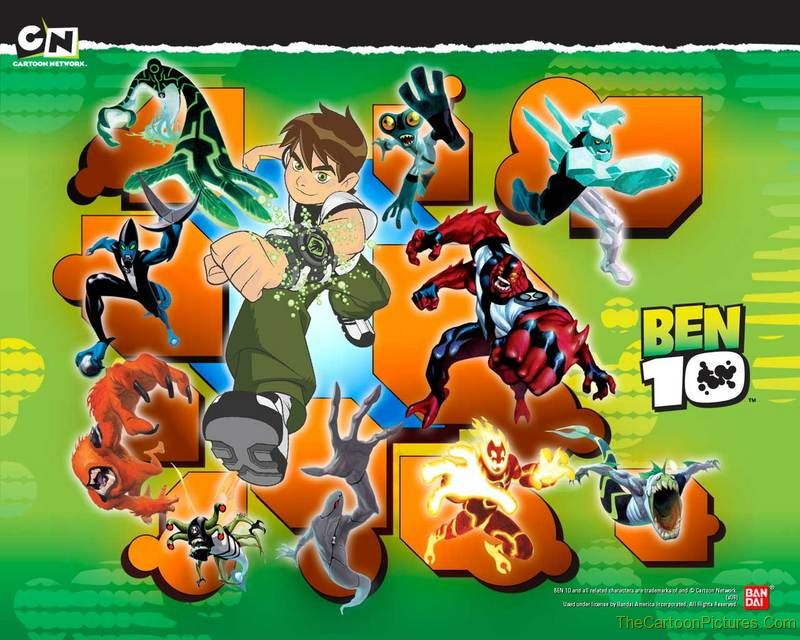 essay on cartoon character ben 10