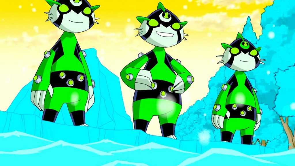Ben 10 Omniverse team sea