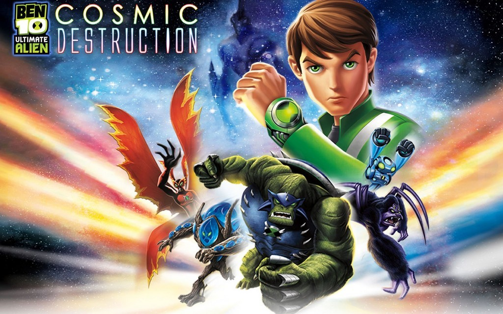 ben10 ultimate alien wallpaper  cover