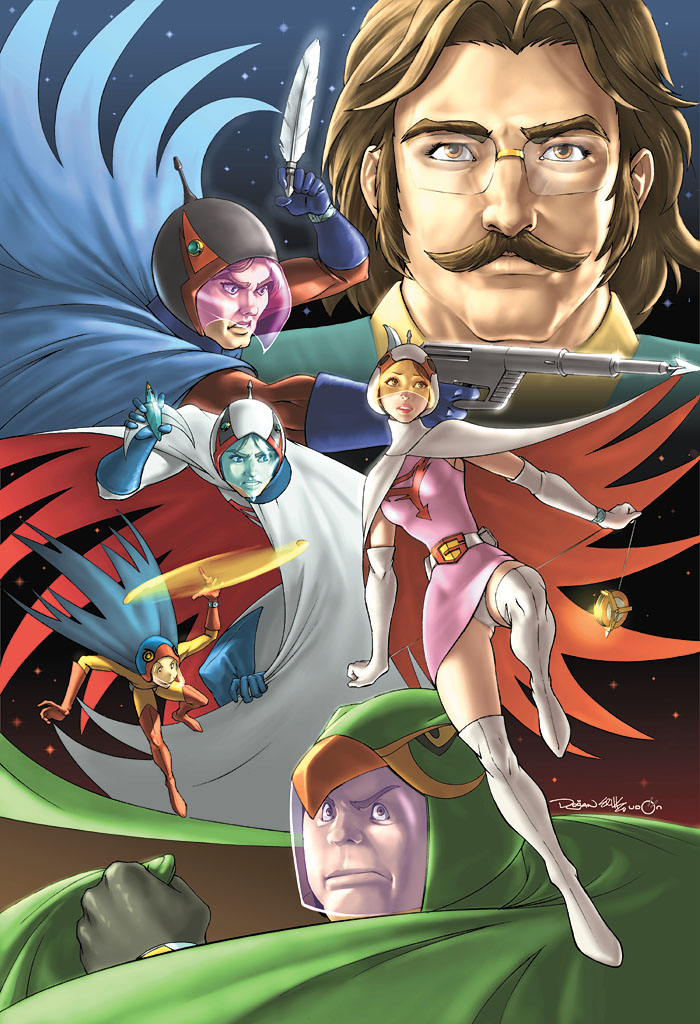 Battle of the Planets Cover