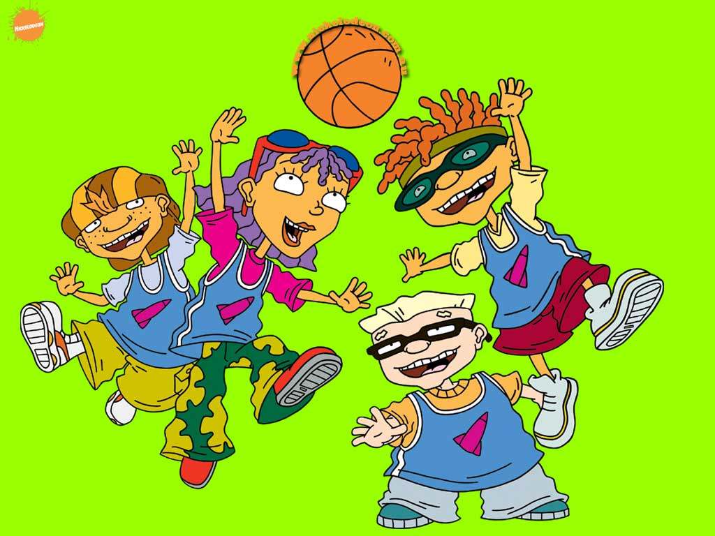 Rocket Power Cartoon