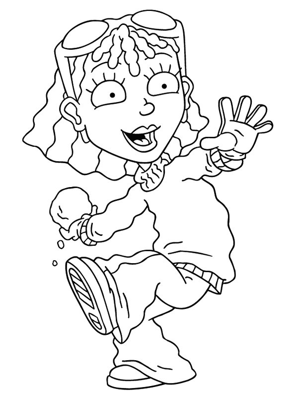 Rocketpower coloring picture rocketpower coloring wallpaper for Rocket power coloring pages