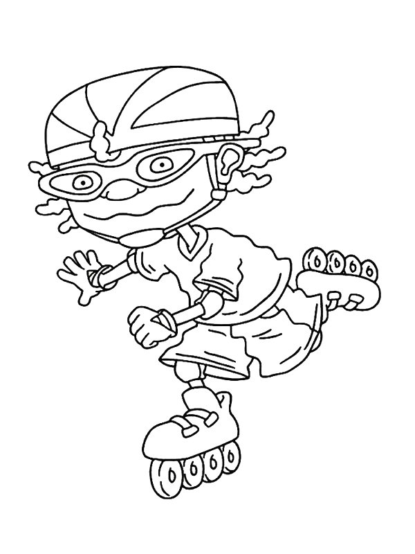 Rocketpower colouring picture rocketpower colouring wallpaper for Rocket power coloring pages