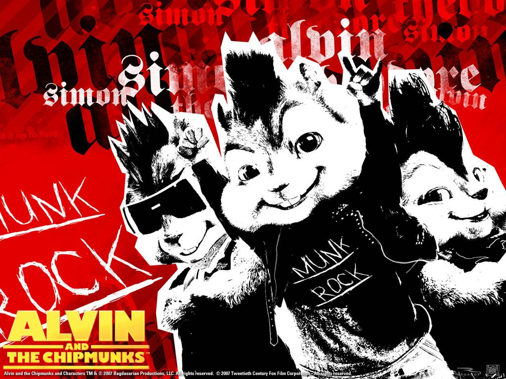 alvin and the chipmunks-wallpaper