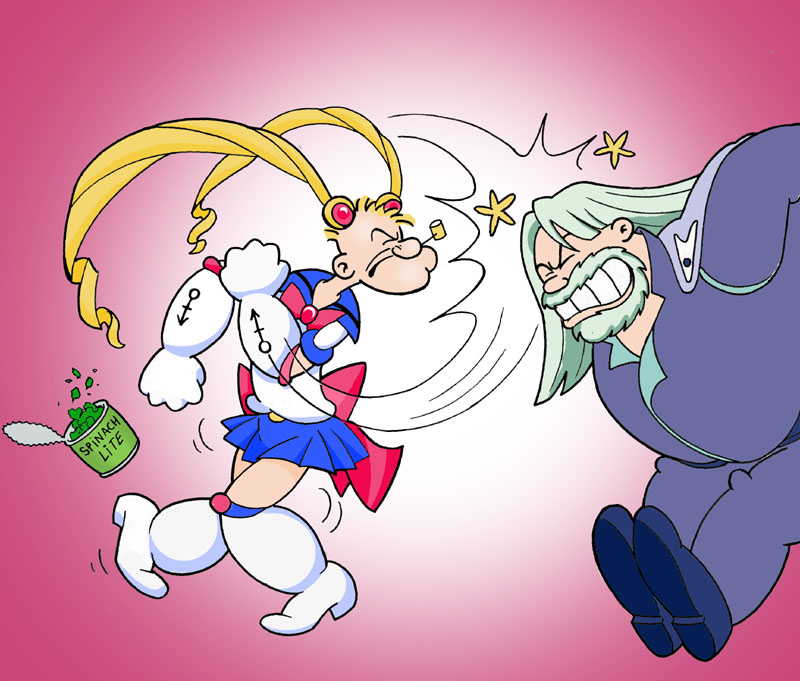 sailor moon wallpaper. Popeye the Sailor Moon Picture