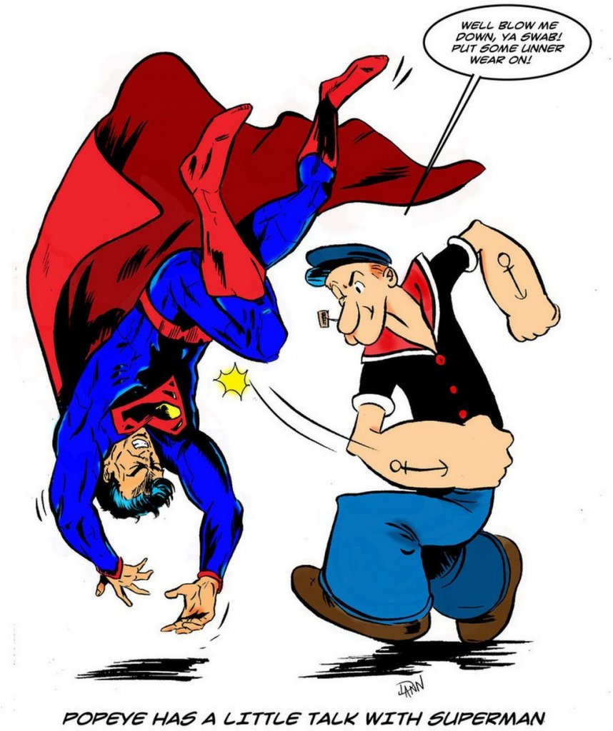 popeye Superman