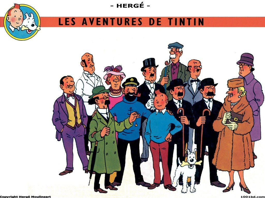 tintin characters picture
