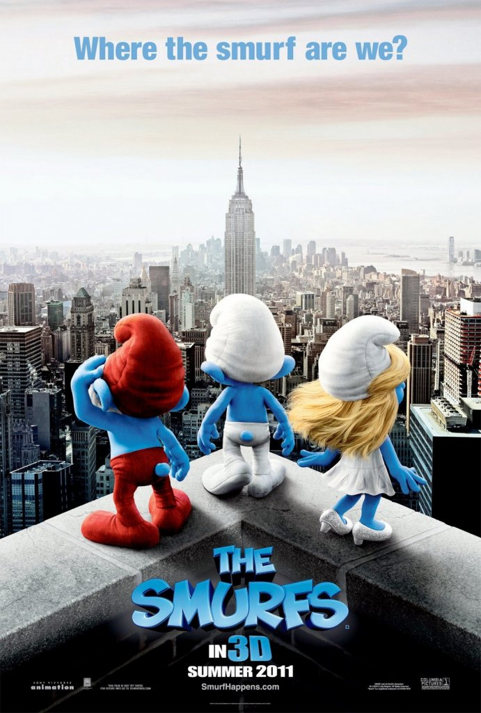 the smurfs poster free