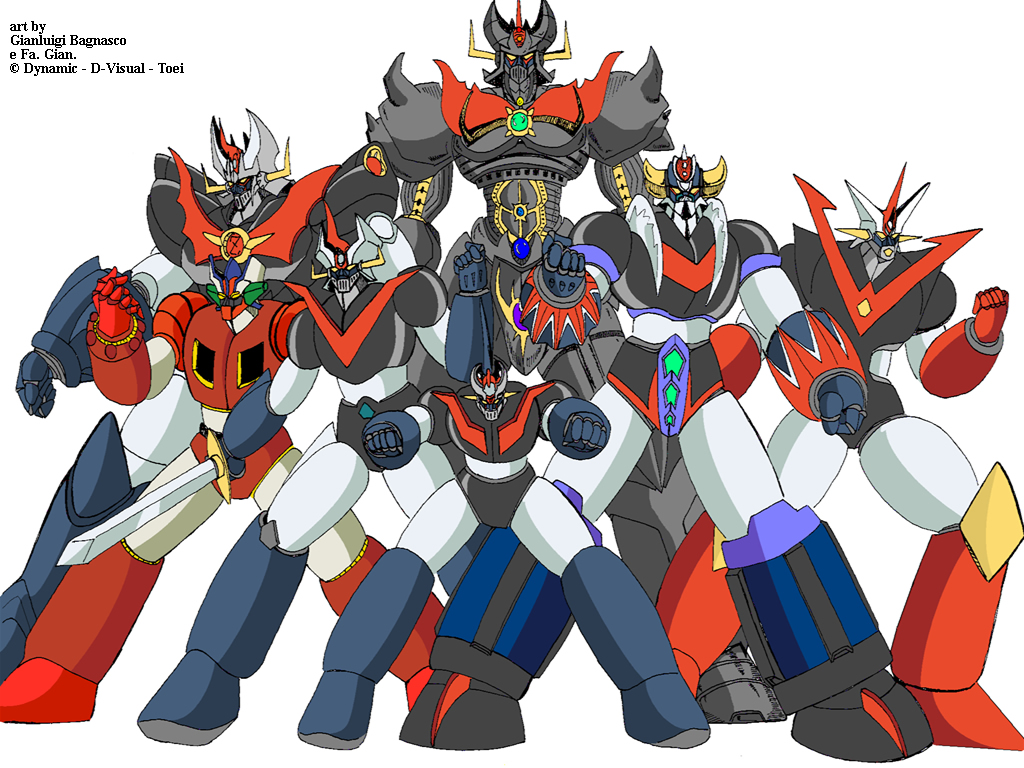 mazinger-z-team