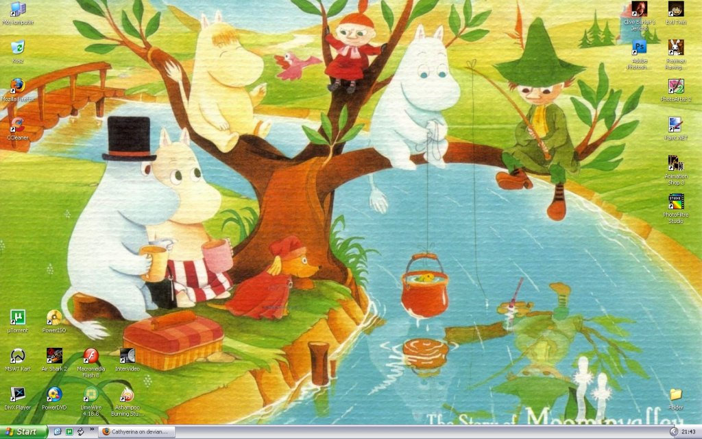 Moomins desktop 1440 photo or wallpaper