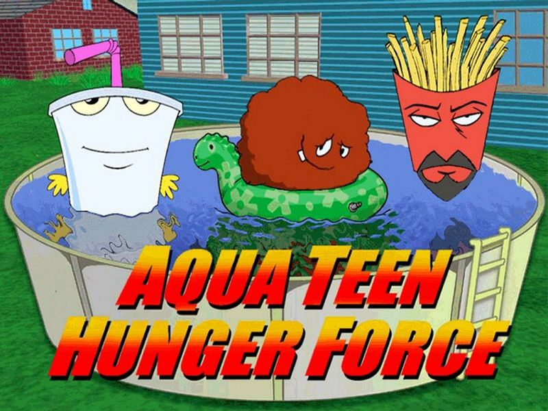 Episodio noired de aqua teen