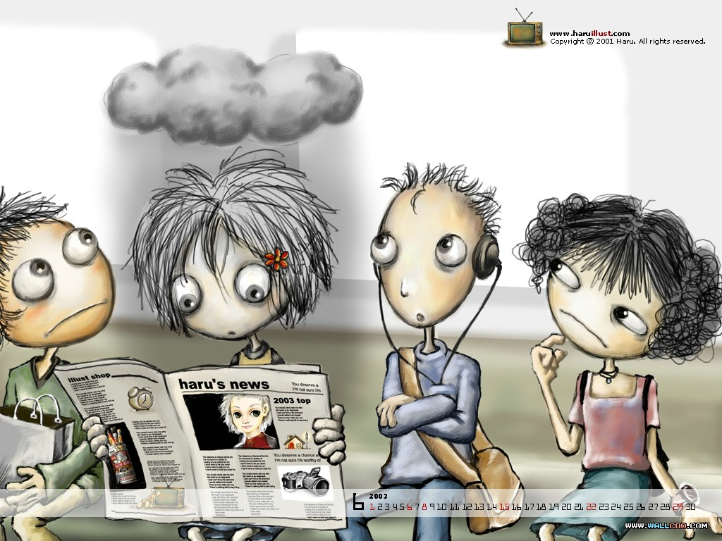 Cool-cartoon-group