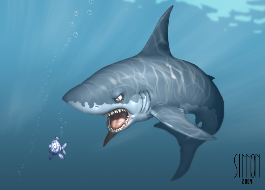 Cool-cartoon-shark