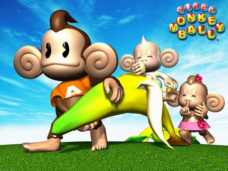 super-Monkey-Ball-Cartoon-monkey