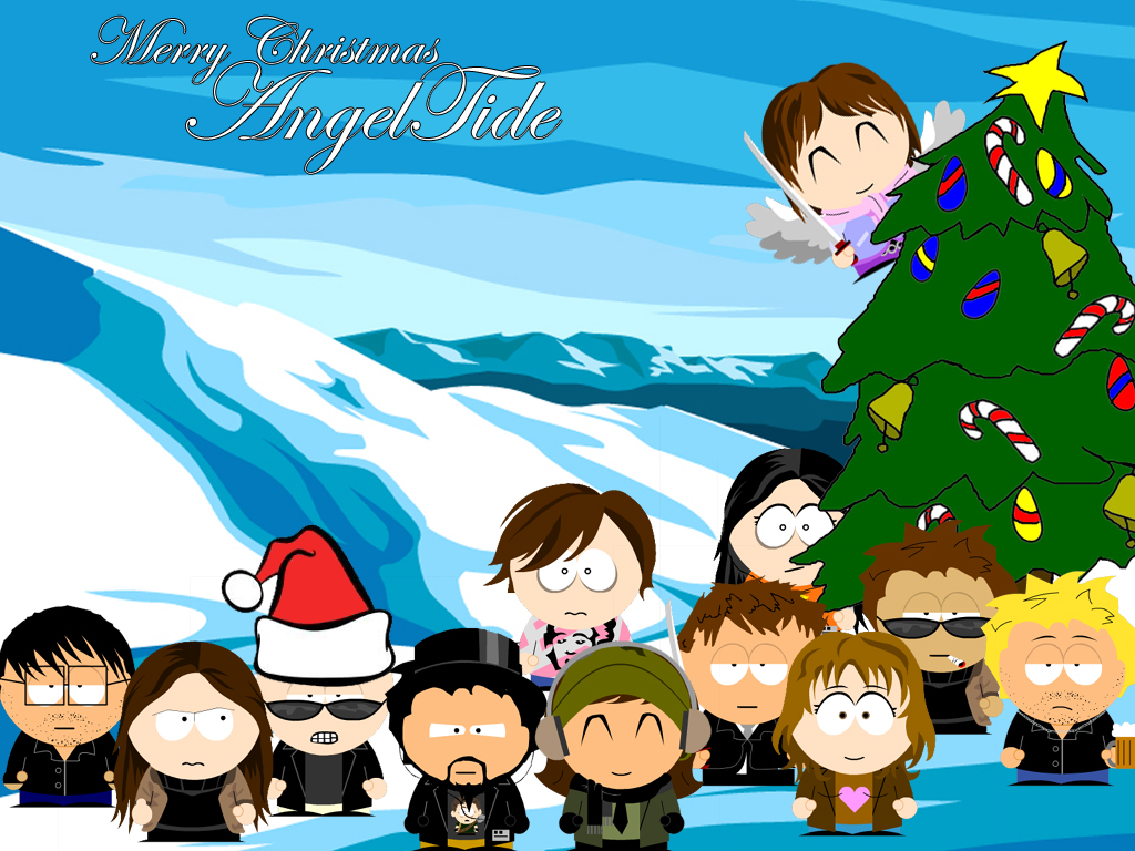 adult christmas cartoon wallpaper - photo #35