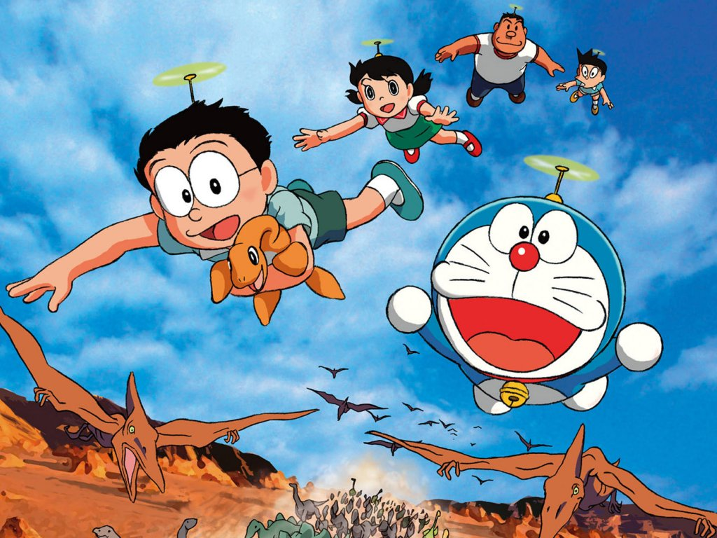 doraemon-dinosaurio photo or wallpaper