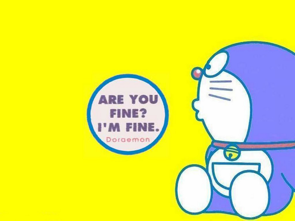 doraemon are you fine