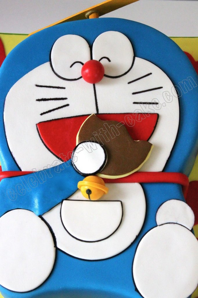 doraemon birthday cake picture
