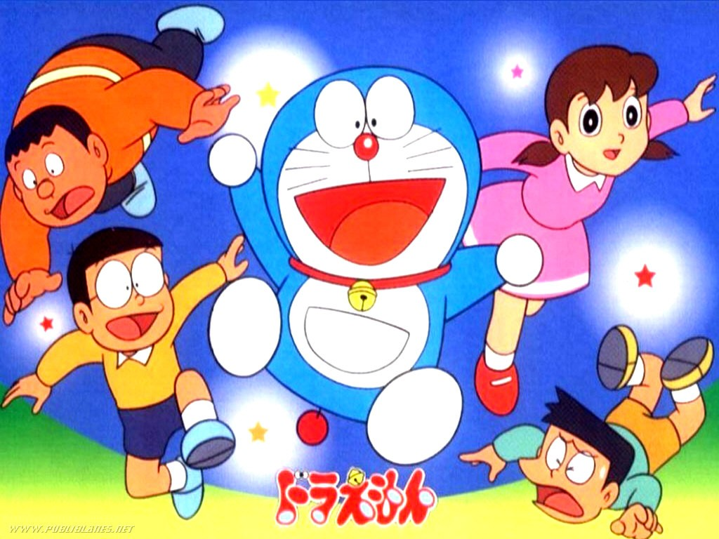 doraemon happy friend