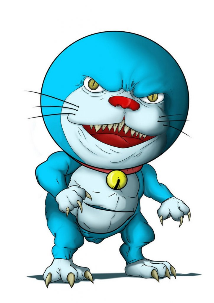 ugly love doraemon