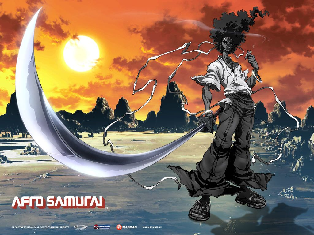 Afro samurai wallpaper 1024