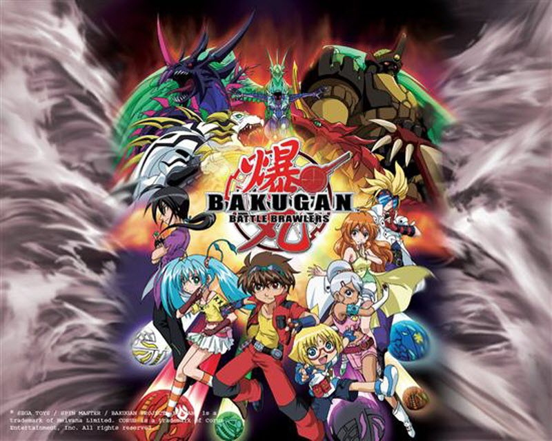 bakugan characters Picture