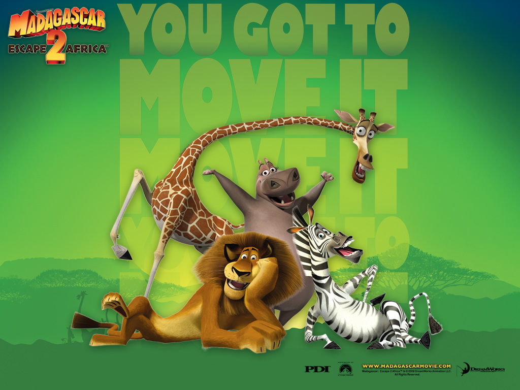Madagascar 2 Cartoon Characters : Madagascar characters picture