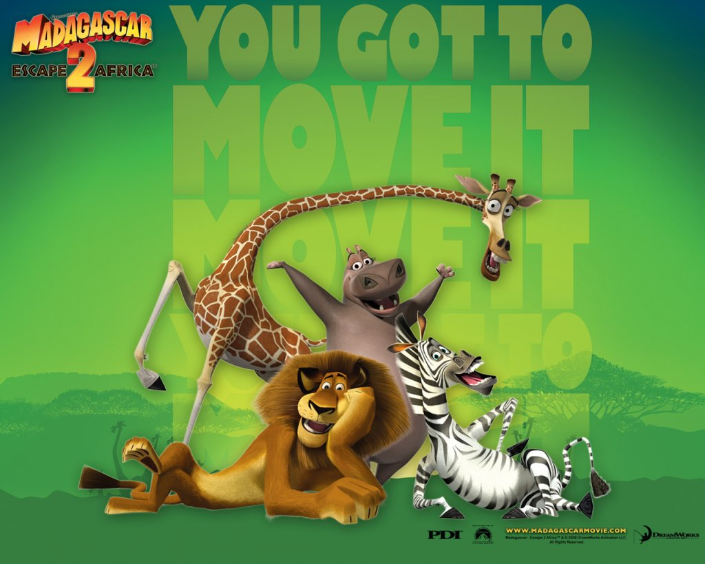 Madagascar 2 Cartoon Characters : Madagascar characters