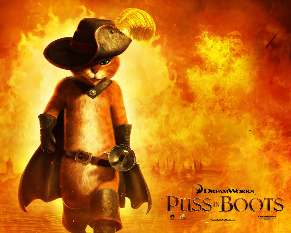 Puss in boots Poster 1280x1024