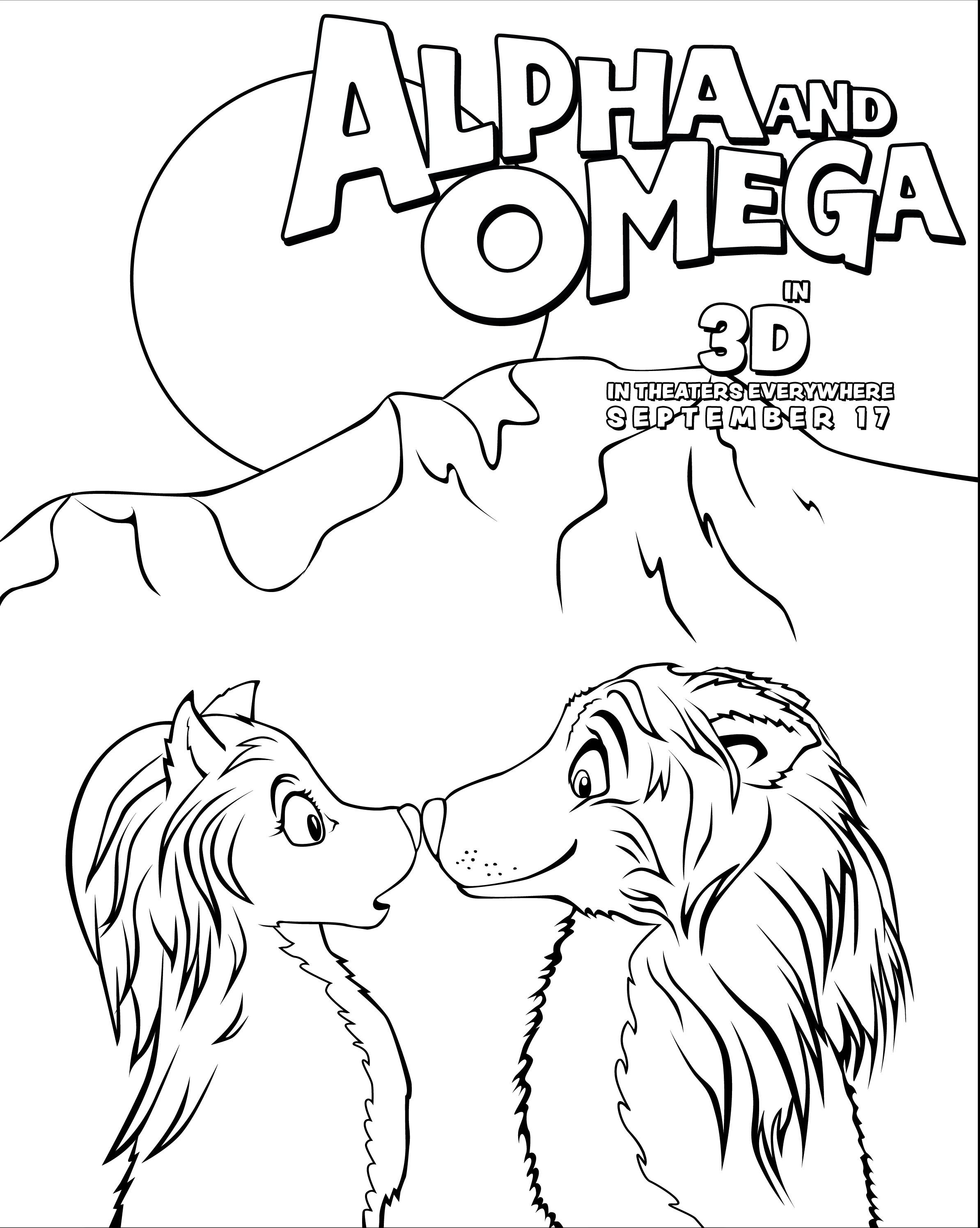 alphafriend coloring pages - photo#19