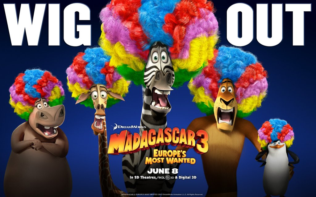 madagascar 3 characters 1920x1200 widescreen
