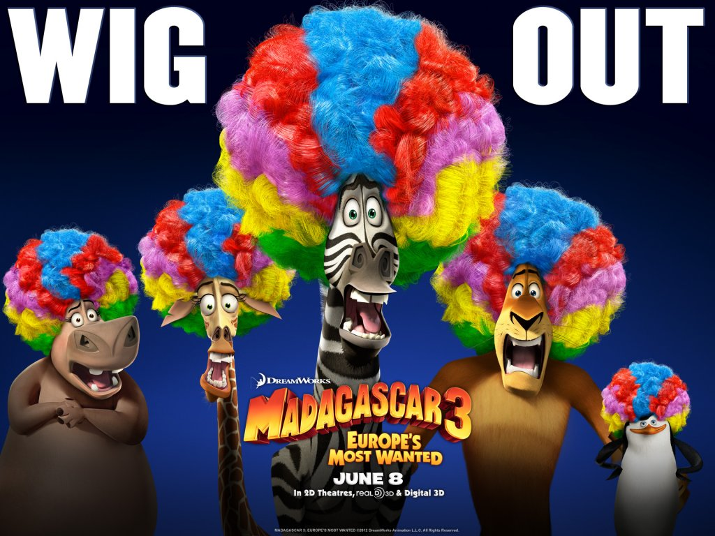 Madagascar 3 Cartoon Characters : Madagascar characters widescreen picture