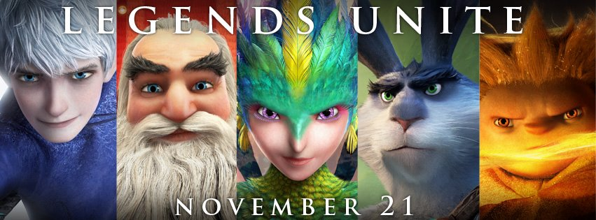 Rise of the Guardians cover facebook