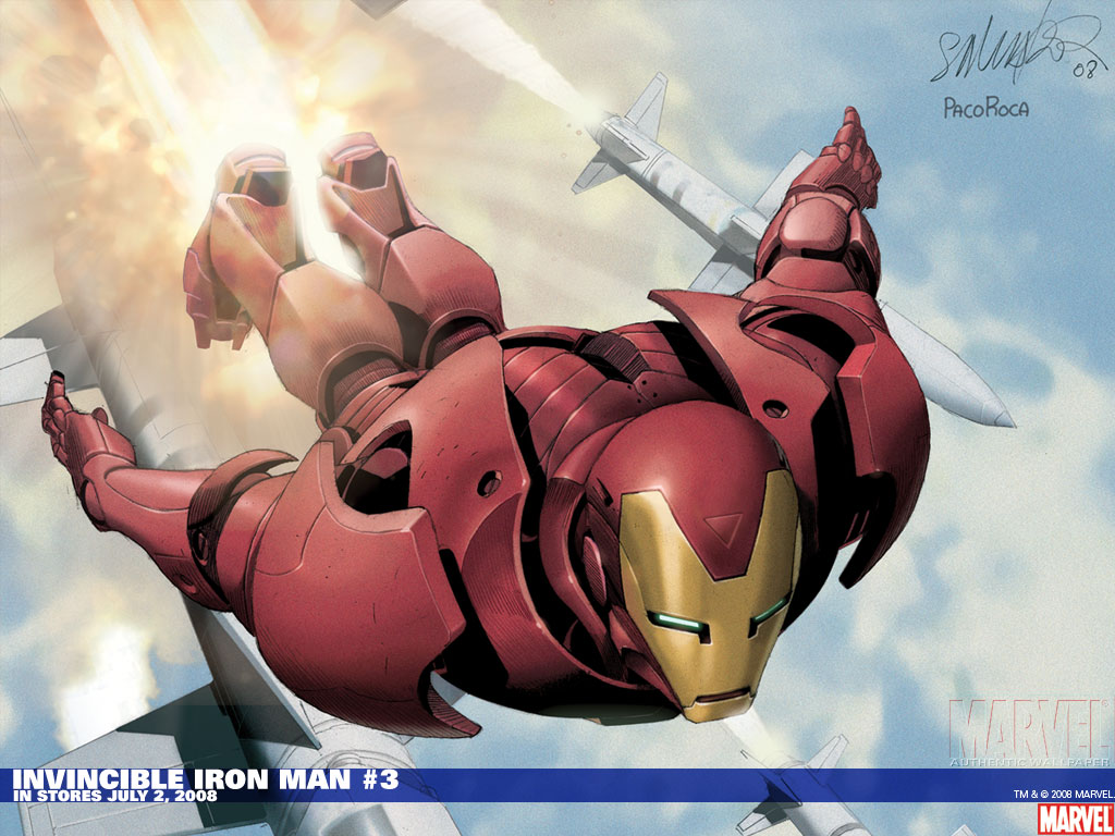 Iron Man HD 1024x768