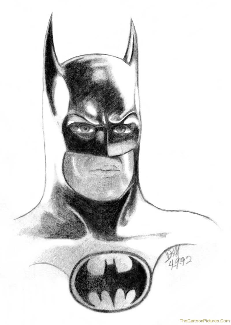 Batman pencil