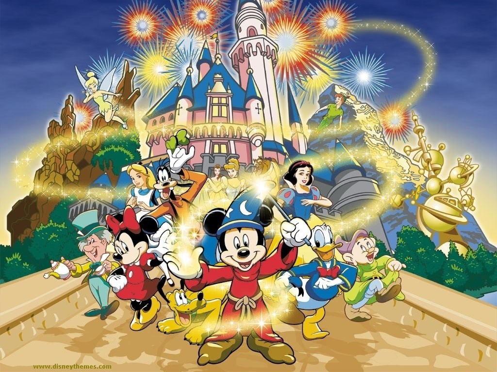 mickey Mouse and Friends Wallpaper disney