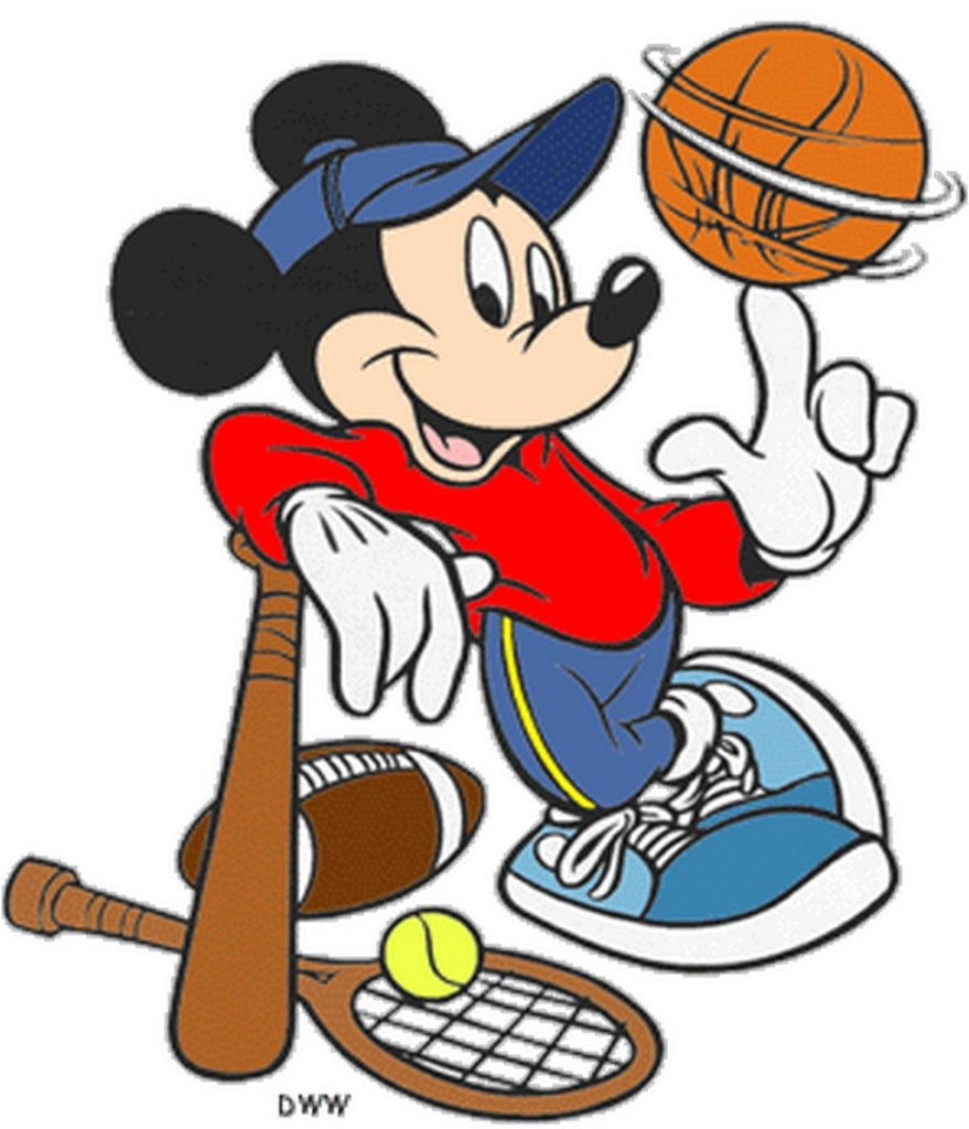 mickey Mouse tennis