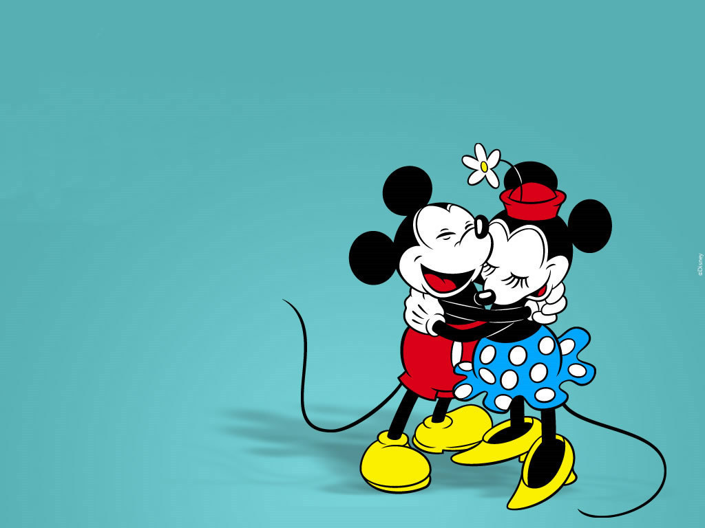 Mickey Mouse and Minnie Mouse Wallpaper mickey and minnie 6351099 1024 768
