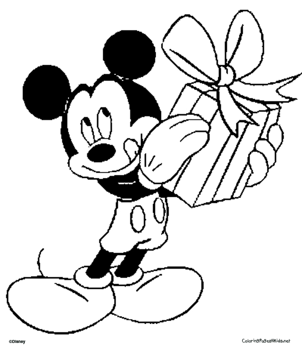 mickey mouse coloring pages9
