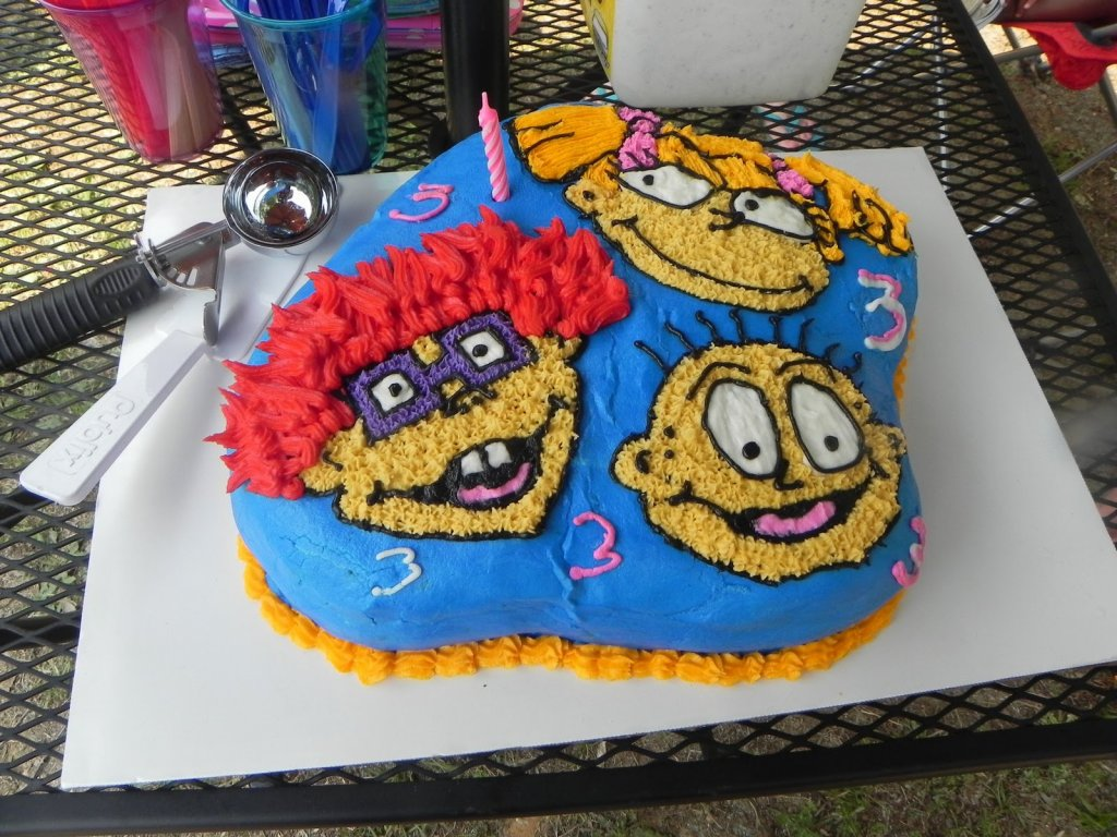 birthday cake rugrats
