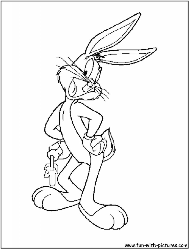 bugs bunny coloring